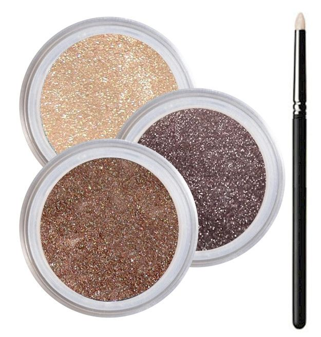 Brown Eyes Smokey Collection - Cruelty Free Makeup, Best Mineral Makeup, Natural Beauty Products, Orglamix
