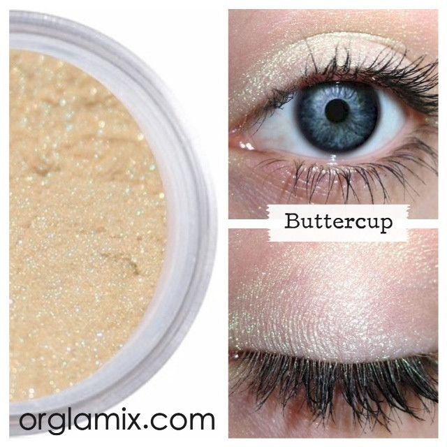 Buttercup Eyeshadow - Cruelty Free Makeup, Best Mineral Makeup, Natural Beauty Products, Orglamix