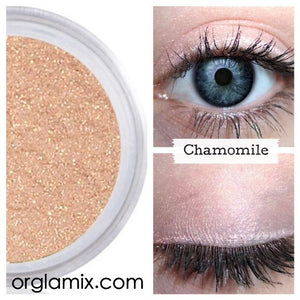 Chamomile Eyeshadow - Cruelty Free Makeup, Best Mineral Makeup, Natural Beauty Products, Orglamix