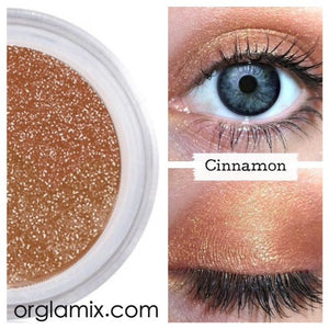 Cinnamon Eyeshadow - Cruelty Free Makeup, Best Mineral Makeup, Natural Beauty Products, Orglamix