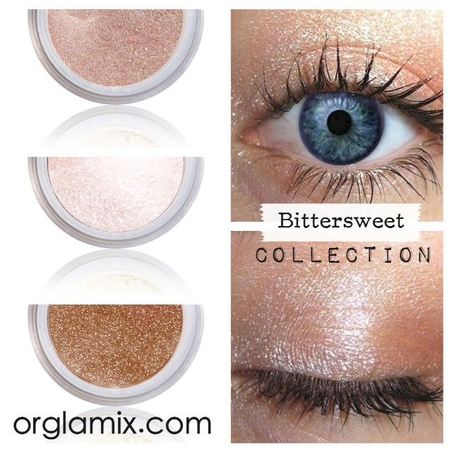 Bittersweet Collection - Cruelty Free Makeup, Best Mineral Makeup, Natural Beauty Products, Orglamix