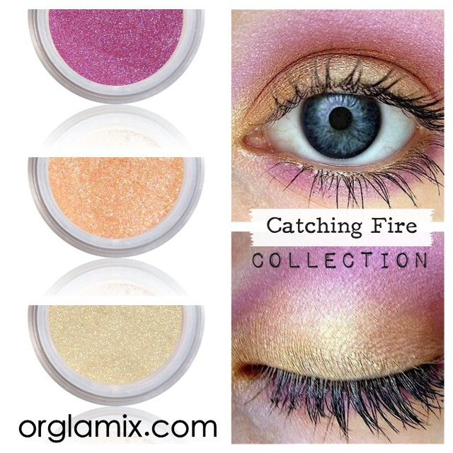 Catching Fire Collection - Cruelty Free Makeup, Best Mineral Makeup, Natural Beauty Products, Orglamix