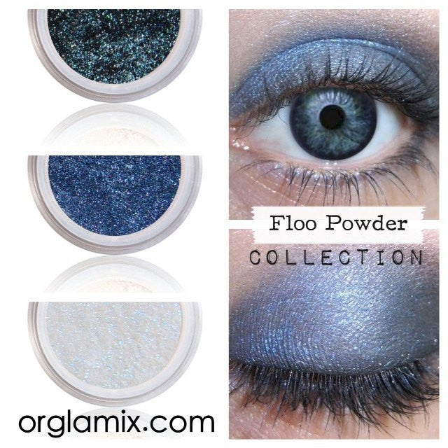 Floo Powder Collection - Cruelty Free Makeup, Best Mineral Makeup, Natural Beauty Products, Orglamix