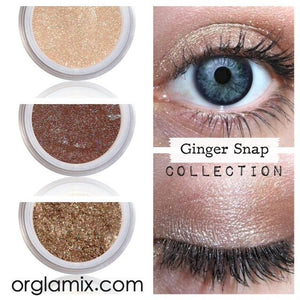 Ginger Snap Collection - Cruelty Free Makeup, Best Mineral Makeup, Natural Beauty Products, Orglamix