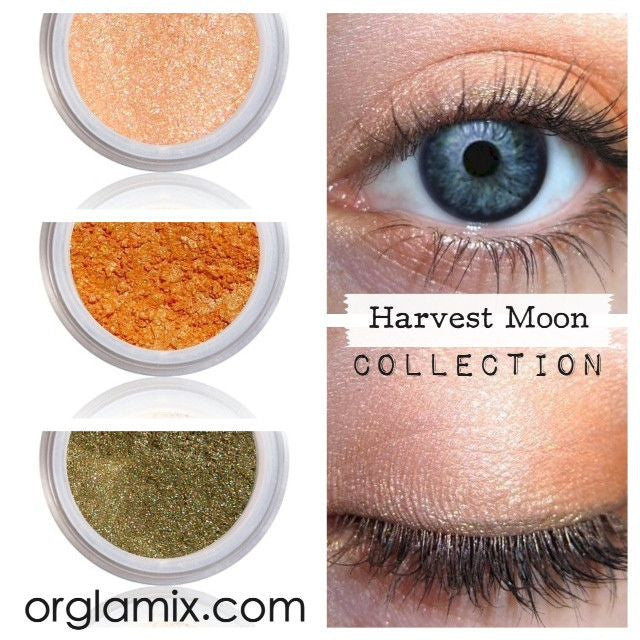 Harvest Moon Collection - Cruelty Free Makeup, Best Mineral Makeup, Natural Beauty Products, Orglamix
