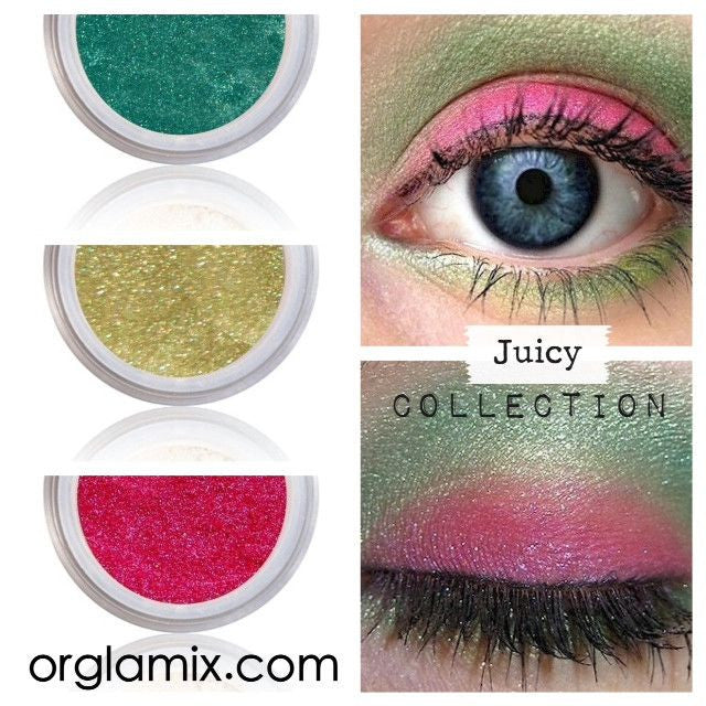 Juicy Collection - Cruelty Free Makeup, Best Mineral Makeup, Natural Beauty Products, Orglamix