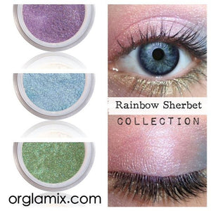 Rainbow Sherbet Collection - Cruelty Free Makeup, Best Mineral Makeup, Natural Beauty Products, Orglamix