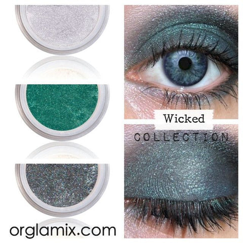wicked collection cruelty free makeup best mineral makeup natural beauty products orglamix