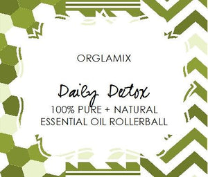 Daily Detox Essential Oil Roll-On - Cruelty Free Makeup, Best Mineral Makeup, Natural Beauty Products, Orglamix
