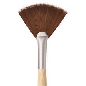 Eco Chic Fan Makeup Brush - Cruelty Free Makeup, Best Mineral Makeup, Natural Beauty Products, Orglamix