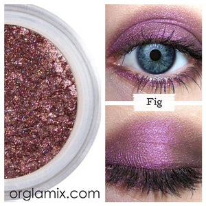 Fig Eyeshadow - Cruelty Free Makeup, Best Mineral Makeup, Natural Beauty Products, Orglamix