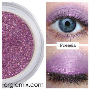 Freesia Eyeshadow - Cruelty Free Makeup, Best Mineral Makeup, Natural Beauty Products, Orglamix