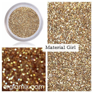 Material Girl Glitter - Cruelty Free Makeup, Best Mineral Makeup, Natural Beauty Products, Orglamix