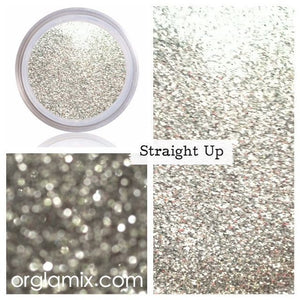Straight Up Glitter - Cruelty Free Makeup, Best Mineral Makeup, Natural Beauty Products, Orglamix