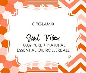 Good Vibes Essential Oil Roll-On - Cruelty Free Makeup, Best Mineral Makeup, Natural Beauty Products, Orglamix