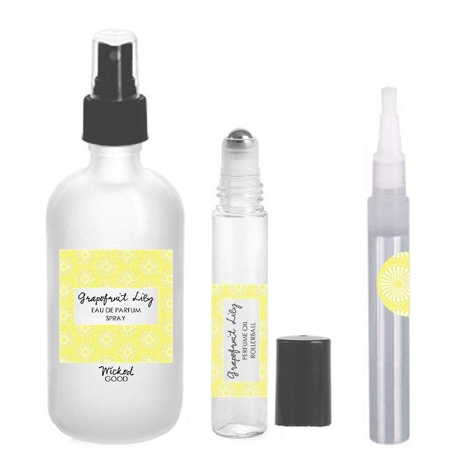 Grapefruit Lily Perfume - Cruelty Free Makeup, Best Mineral Makeup, Natural Beauty Products, Orglamix