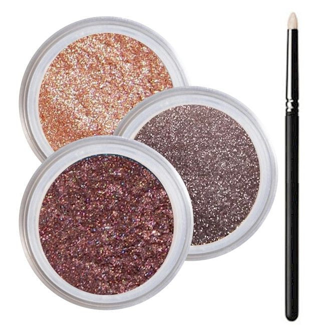 Green Eyes Smokey Collection - Cruelty Free Makeup, Best Mineral Makeup, Natural Beauty Products, Orglamix