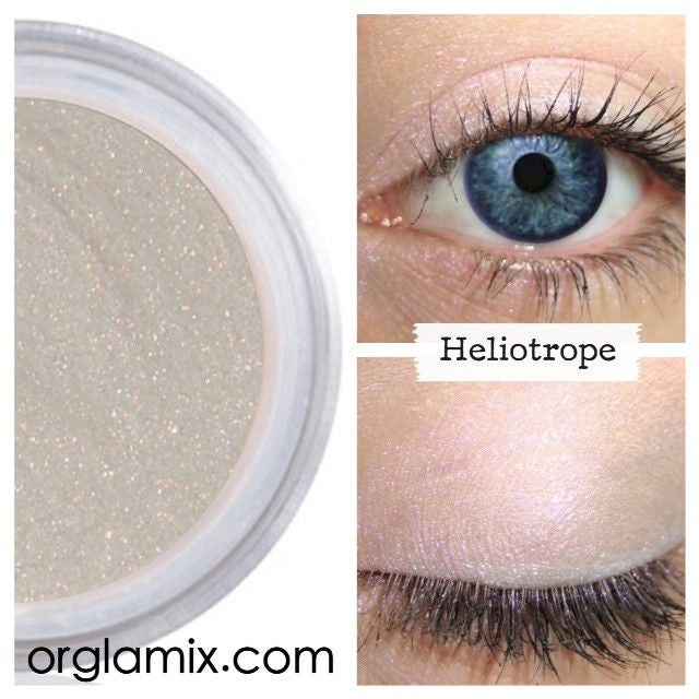 Heliotrope Eyeshadow - Cruelty Free Makeup, Best Mineral Makeup, Natural Beauty Products, Orglamix