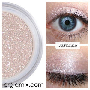 Jasmine Eyeshadow - Cruelty Free Makeup, Best Mineral Makeup, Natural Beauty Products, Orglamix