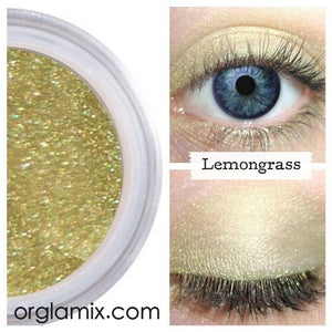 Lemongrass Eyeshadow - Cruelty Free Makeup, Best Mineral Makeup, Natural Beauty Products, Orglamix