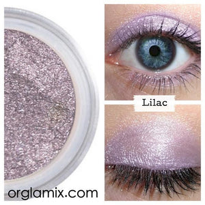 Lilac Eyeshadow - Cruelty Free Makeup, Best Mineral Makeup, Natural Beauty Products, Orglamix