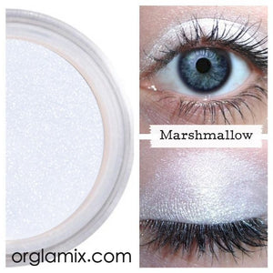 Marshmallow Eyeshadow - Cruelty Free Makeup, Best Mineral Makeup, Natural Beauty Products, Orglamix
