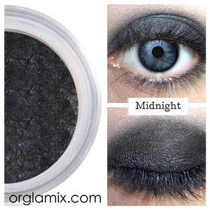 Midnight Eyeshadow - Cruelty Free Makeup, Best Mineral Makeup, Natural Beauty Products, Orglamix
