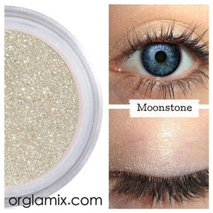 Moonstone Eyeshadow - Cruelty Free Makeup, Best Mineral Makeup, Natural Beauty Products, Orglamix