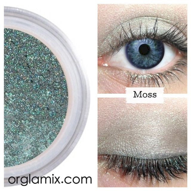 Moss Eyeshadow - Cruelty Free Makeup, Best Mineral Makeup, Natural Beauty Products, Orglamix