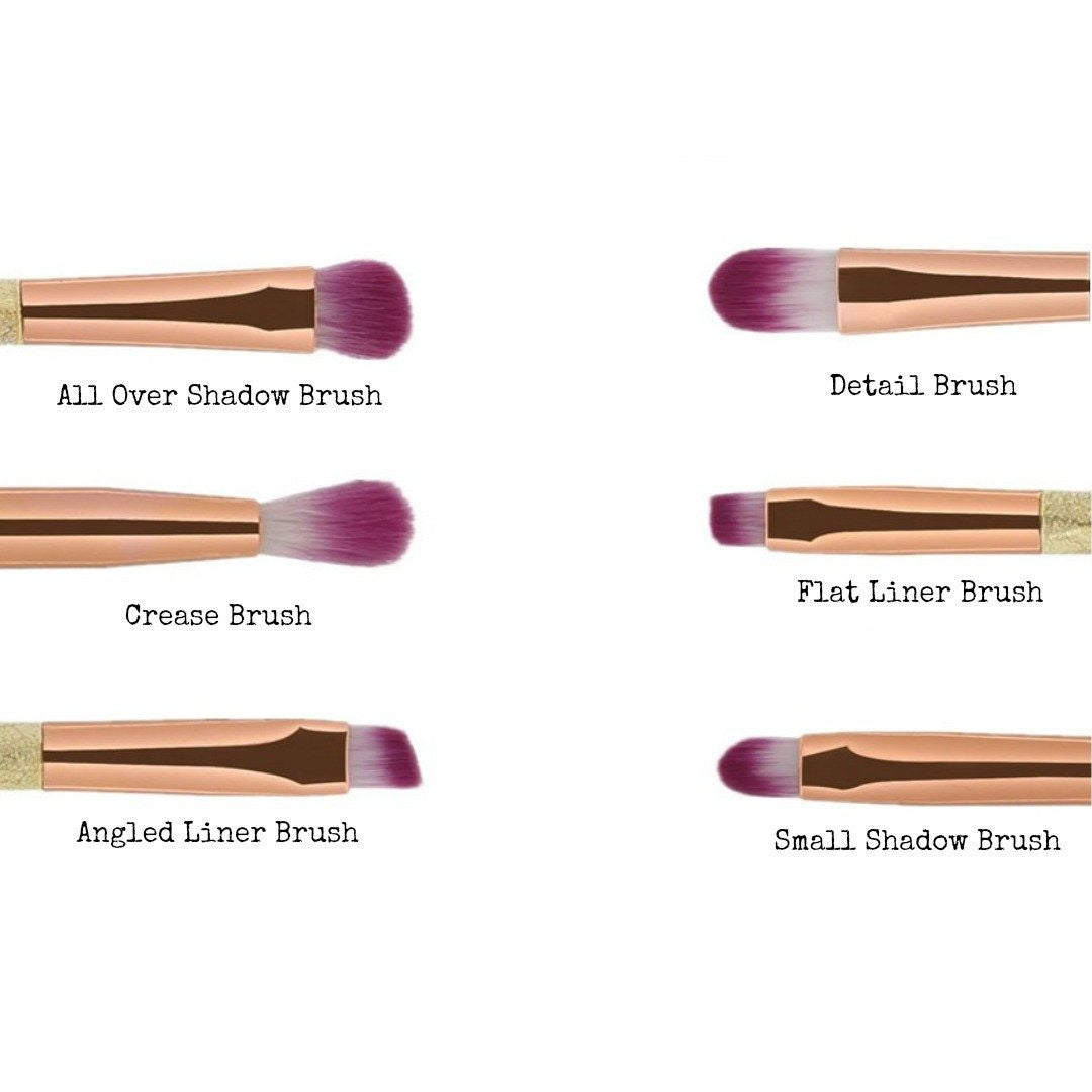 ... Ombre Glitter Makeup Brushes - Cruelty Free Makeup, Best Mineral Makeup, Natural Beauty Products ...