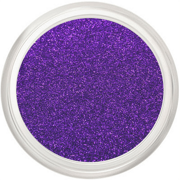Purple Glitter Makeup Microfine
