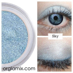 Sky Eyeshadow - Cruelty Free Makeup, Best Mineral Makeup, Natural Beauty Products, Orglamix