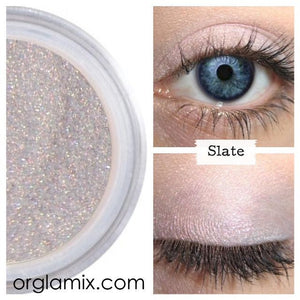 Slate Eyeshadow - Cruelty Free Makeup, Best Mineral Makeup, Natural Beauty Products, Orglamix