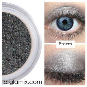 Storm Eyeshadow - Cruelty Free Makeup, Best Mineral Makeup, Natural Beauty Products, Orglamix