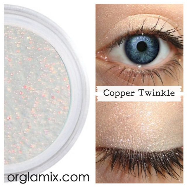 Copper Twinkle Effects Eyeshadow - Cruelty Free Makeup, Best Mineral Makeup, Natural Beauty Products, Orglamix