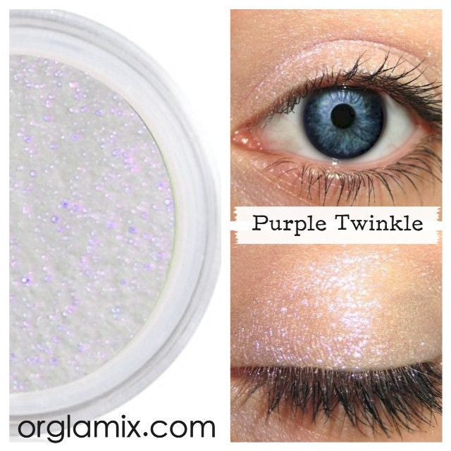 Purple Twinkle Effects Eyeshadow - Cruelty Free Makeup, Best Mineral Makeup, Natural Beauty Products, Orglamix