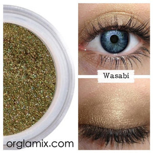 Wasabi Eyeshadow - Cruelty Free Makeup, Best Mineral Makeup, Natural Beauty Products, Orglamix