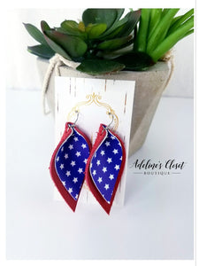 Americana Earrings - Adeline's Closet Boutique Clothing