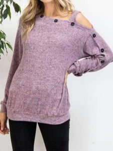 Harper Button Detail Sweater