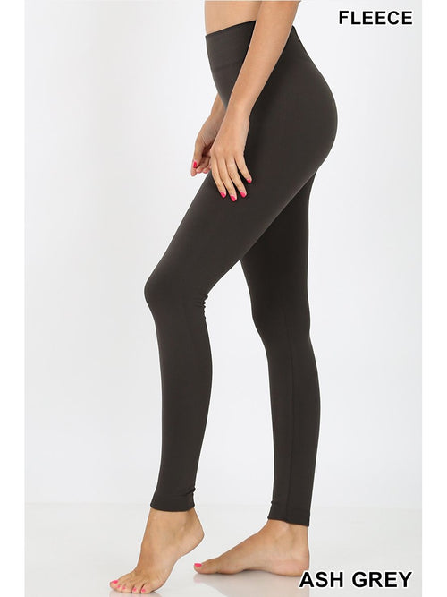 High Waist Tummy Control Fleece Lined Leggings