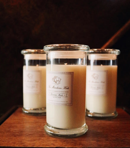 The Mandarin Hide Signature Candle