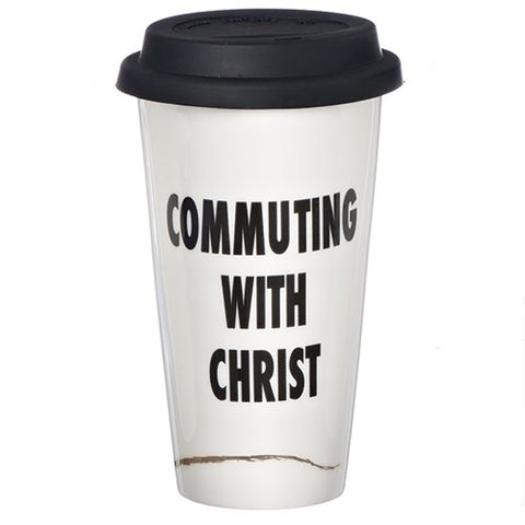Thermal Travel Mug ~ Commuting with Christ