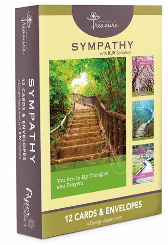 Sympathy ~ Pathways ~ Boxed Cards by Papercraft