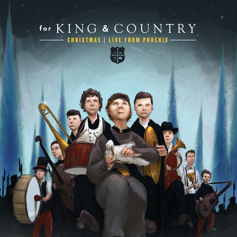Cd ~ For King & Country: Christmas: Live From Phoenix