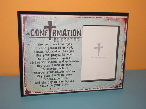 Confirmation Blessing Photo Frame