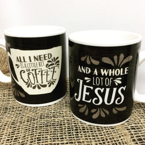 Mug ~ Coffee & Jesus