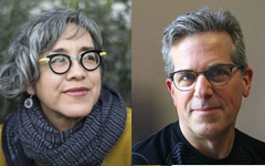 April 27 - Cristina Rivera Garza and Jonathan Lethem
