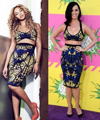 "YONCE ""Call of Nature"" 2 Pieces Dress"