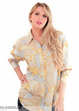 EXCLUSIVE Baroque Cords Blouse