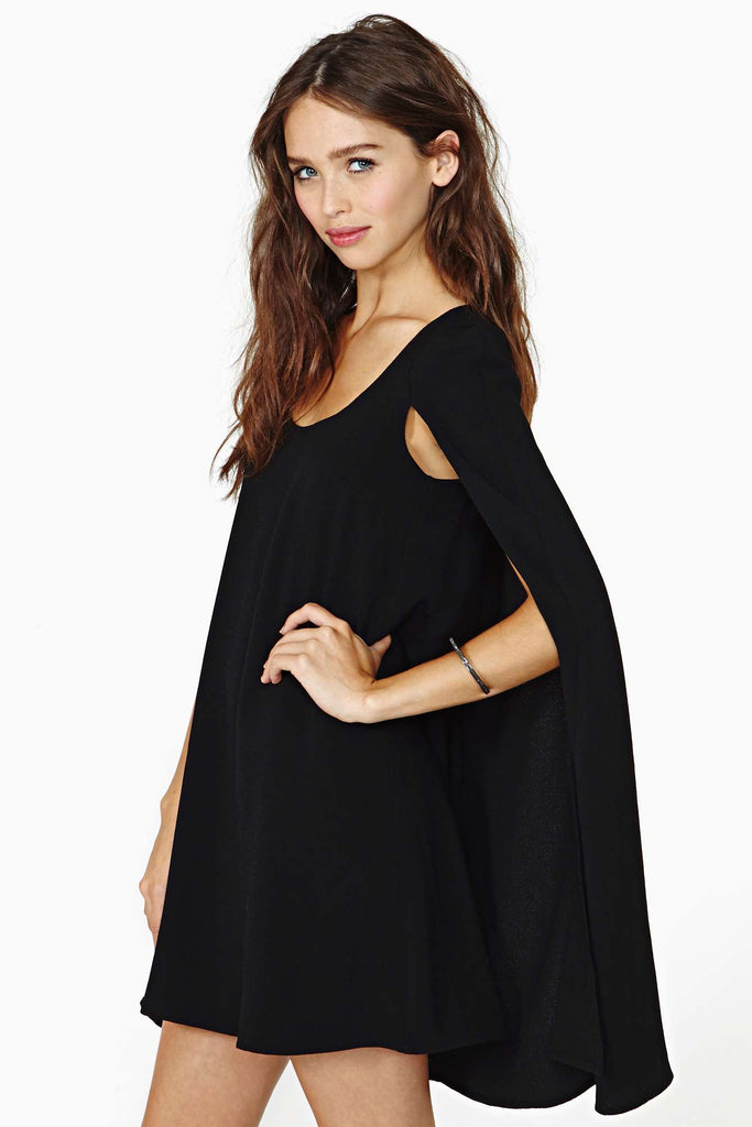 Angel of the Dark Cape Dress